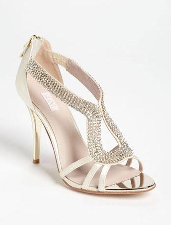 Revel Champagne Crystal Heel Wedding Hochzeitsschuhe