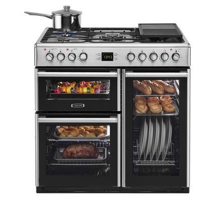 Leisure Stainless Steel Range Cooker | Range Cookers | Kitchen ...