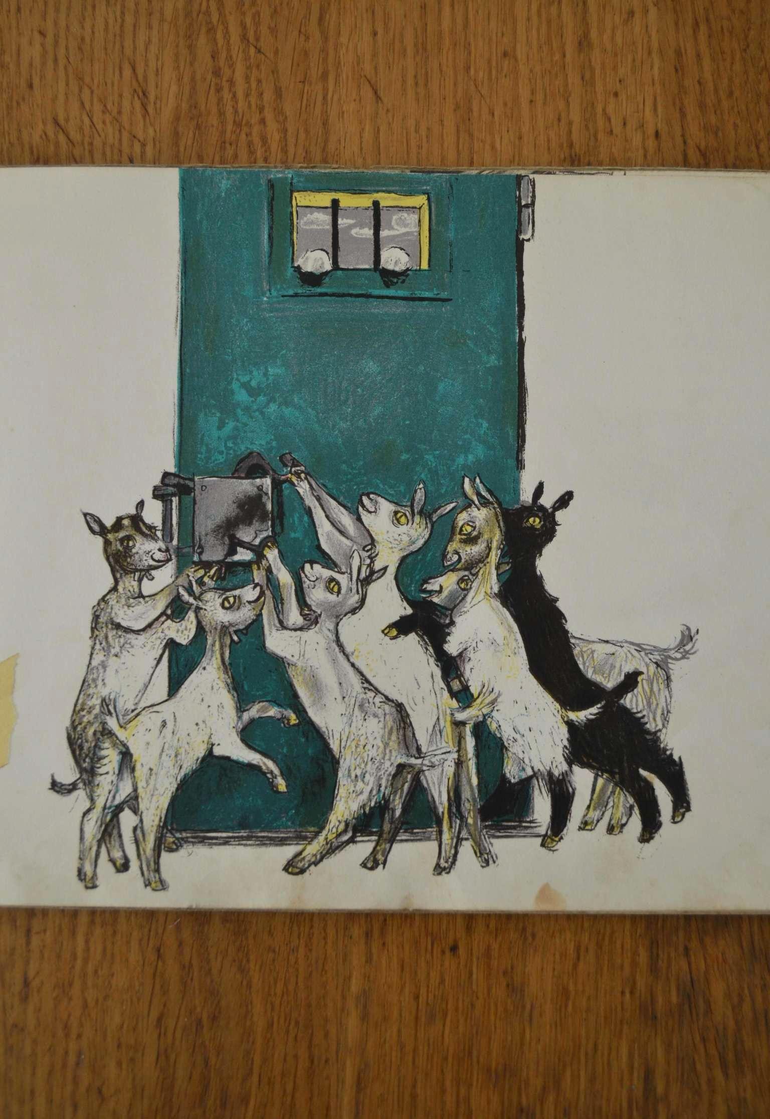 der wolf und die sieben geisslein from felix hoffmann