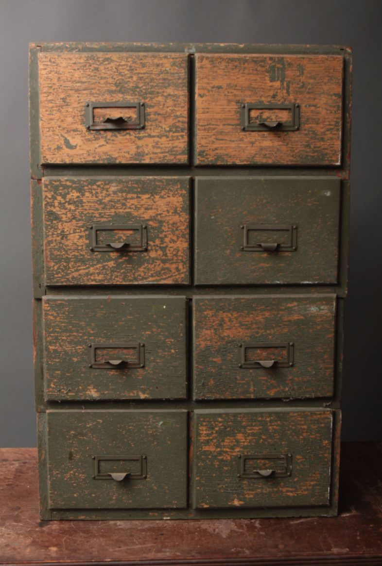 Wooden Double Filing Cabinet