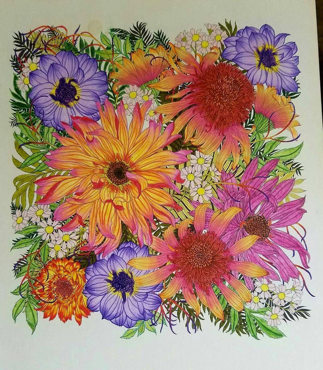 floribunda #leiladuly#beautifulcoloring   LARA   Pinterest   Libros ...