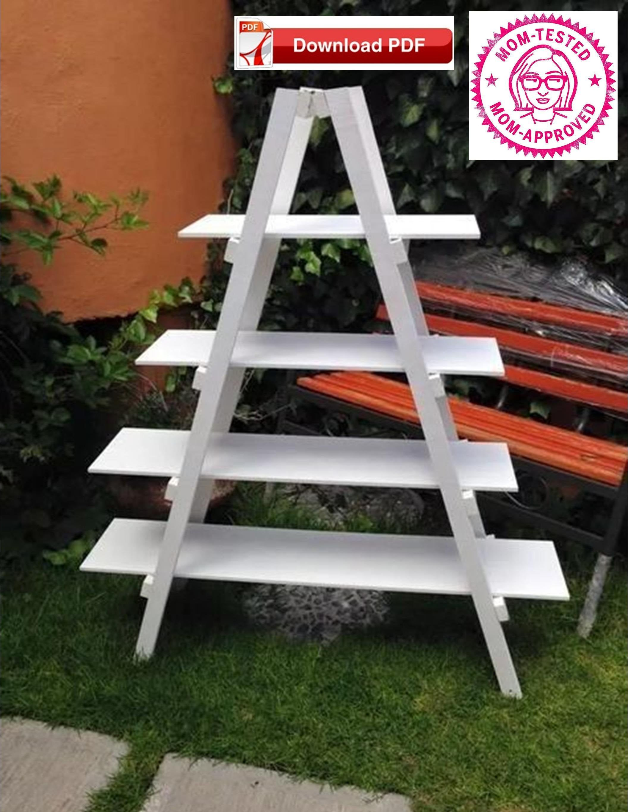 Craft Show Display Stand Plan Ladder Display Stand Plan Wood