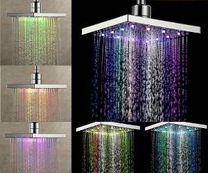 This Might Actually Be The Coolest Thing I Have Ever Seen Colorful Giftideas Christmasiscoming With Images Led Shower Head Shower Heads Luxury Shower