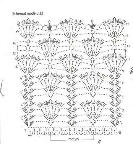 Вязание крючком шторы занавески схемы и описание