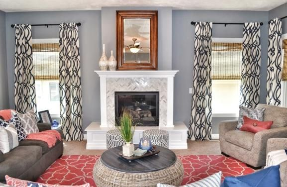 This Space And These Clients Were So Fun To Work With Coral Navy