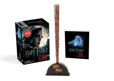Harry Potter Hermione's Wand with Sticker Kit: Lights Up! (Mixed media product)