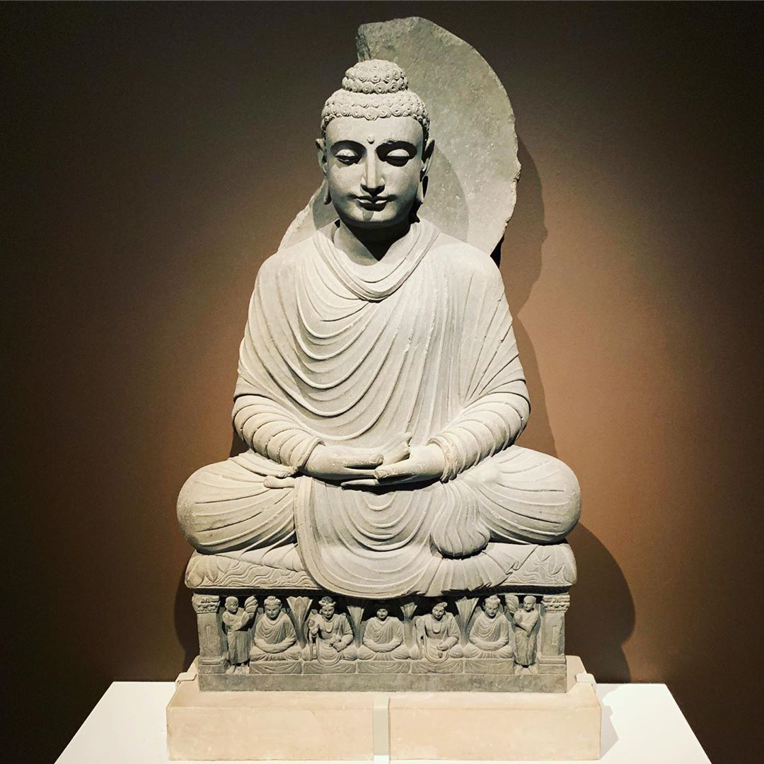 Zoran Poposki Frsa On Instagram Seated Buddha From Gandhara One Of The Highlights Of The Exhibition A History Of The Wor Buddha British Museum World History