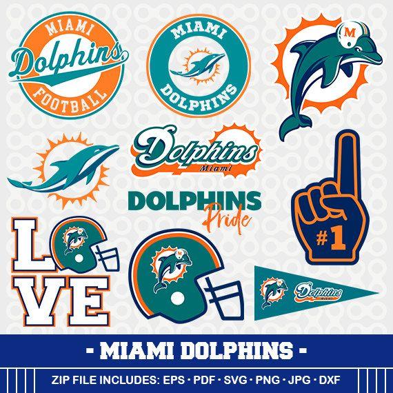 miami dolphins svg files dolphins football clipart svg mom s rh pinterest com Cardinals Logo Outline Cardinals Logo Stencil
