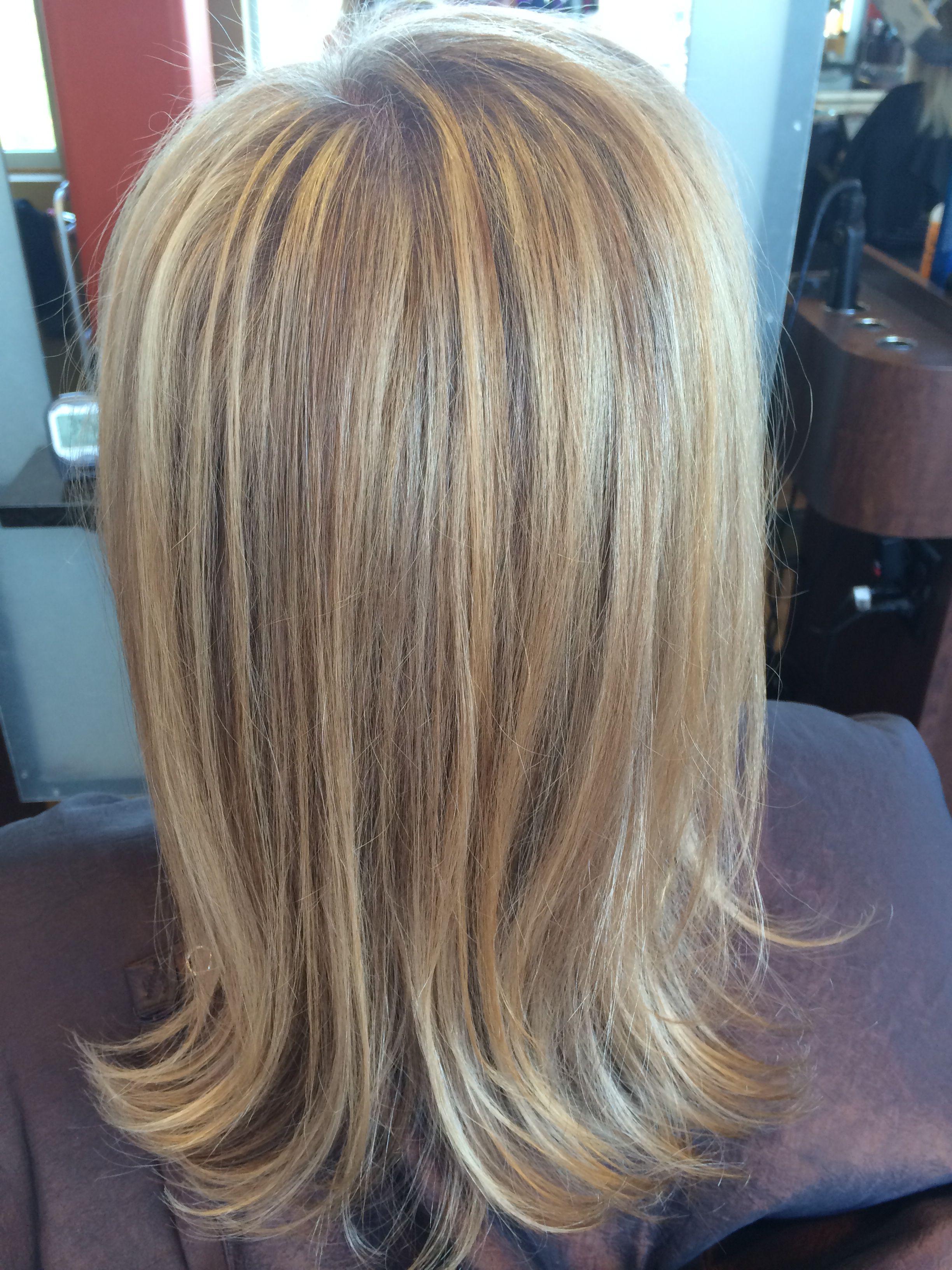 Grey Blending Using Balayage Highlighting Blending Gray Hair