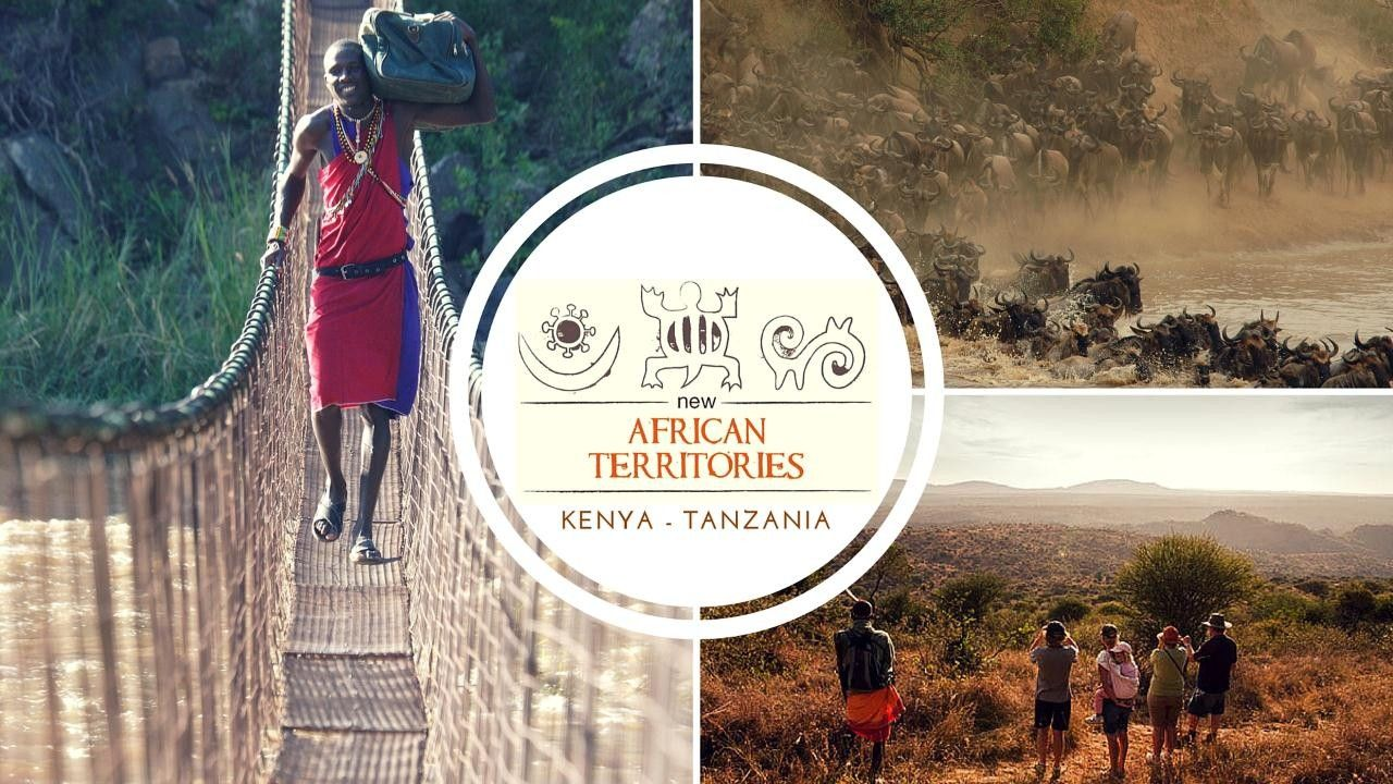 New African Territories - New African Territories represents a select few private, exclusive camps and lodges, in Kenya and Tanzania. Alex Walker Serian, Sabuk Lodge, Maasai Trails, Speke's Camp, House in the Wild, Desert Rose, Ololo Safari Lodge