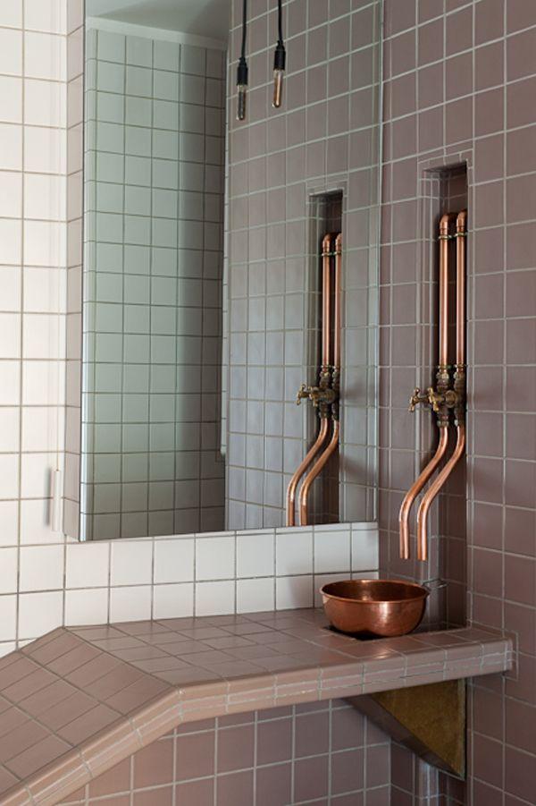 diy industrial copper | Ванная | Pinterest | Industrial, Kitchen ...