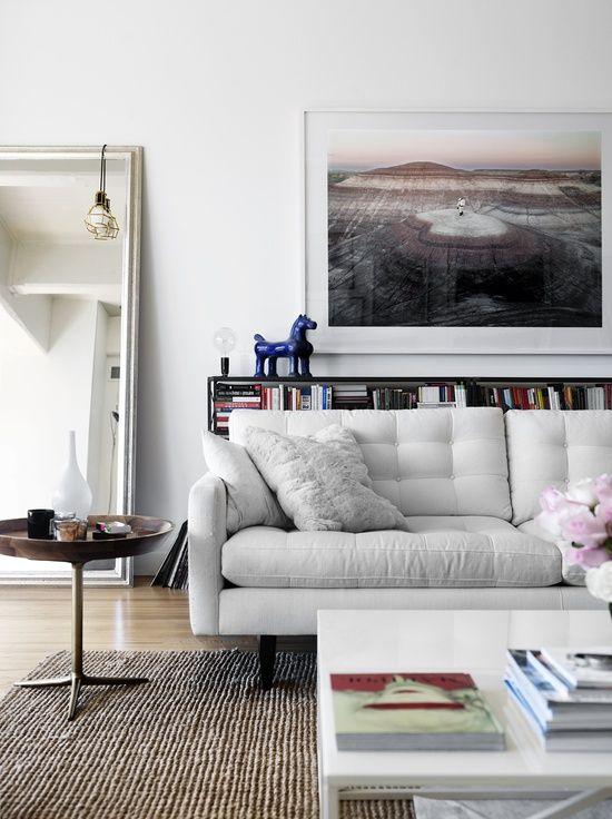 Regal Hinter Sofa Ideal Fur Raume Mit Wenig Platz Wohnen Pinterest