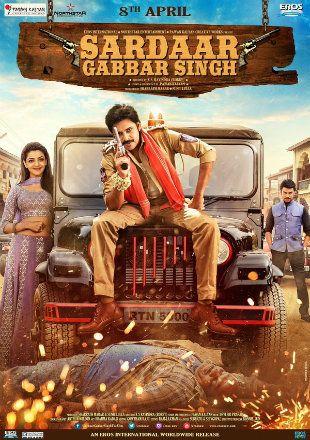 Sardaar Gabbar Singh 2016 DVDRip Hindi Dual Audio 480p