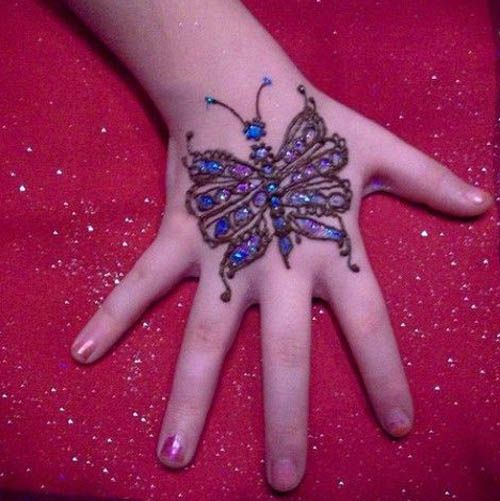 9 Stunning Glitter Mehndi Designs With Pictures Styles At Life Mehndi Designs For Kids Mehndi Simple Simple Mehndi Designs