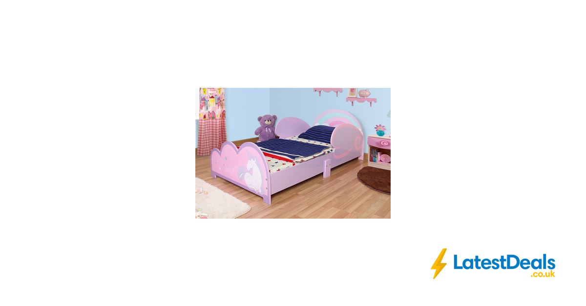 Magical Unicorn Kids Bed Frame 59 At Wowcher Kids Kids Bed