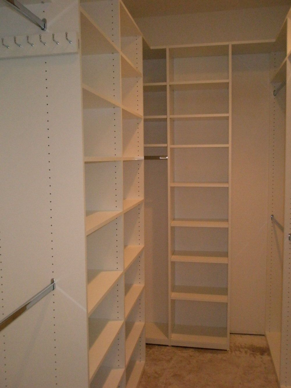 incredible small walk in closet ideas and makeovers for on extraordinary small walk in closet ideas makeovers id=99541