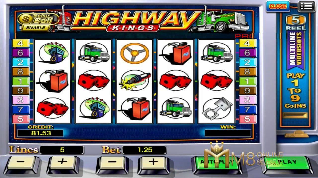 Highway Kings . 918Kiss good daily player. #onlinecasinomalaysia #trustedonlinecasino #scr888 #supergold7slot