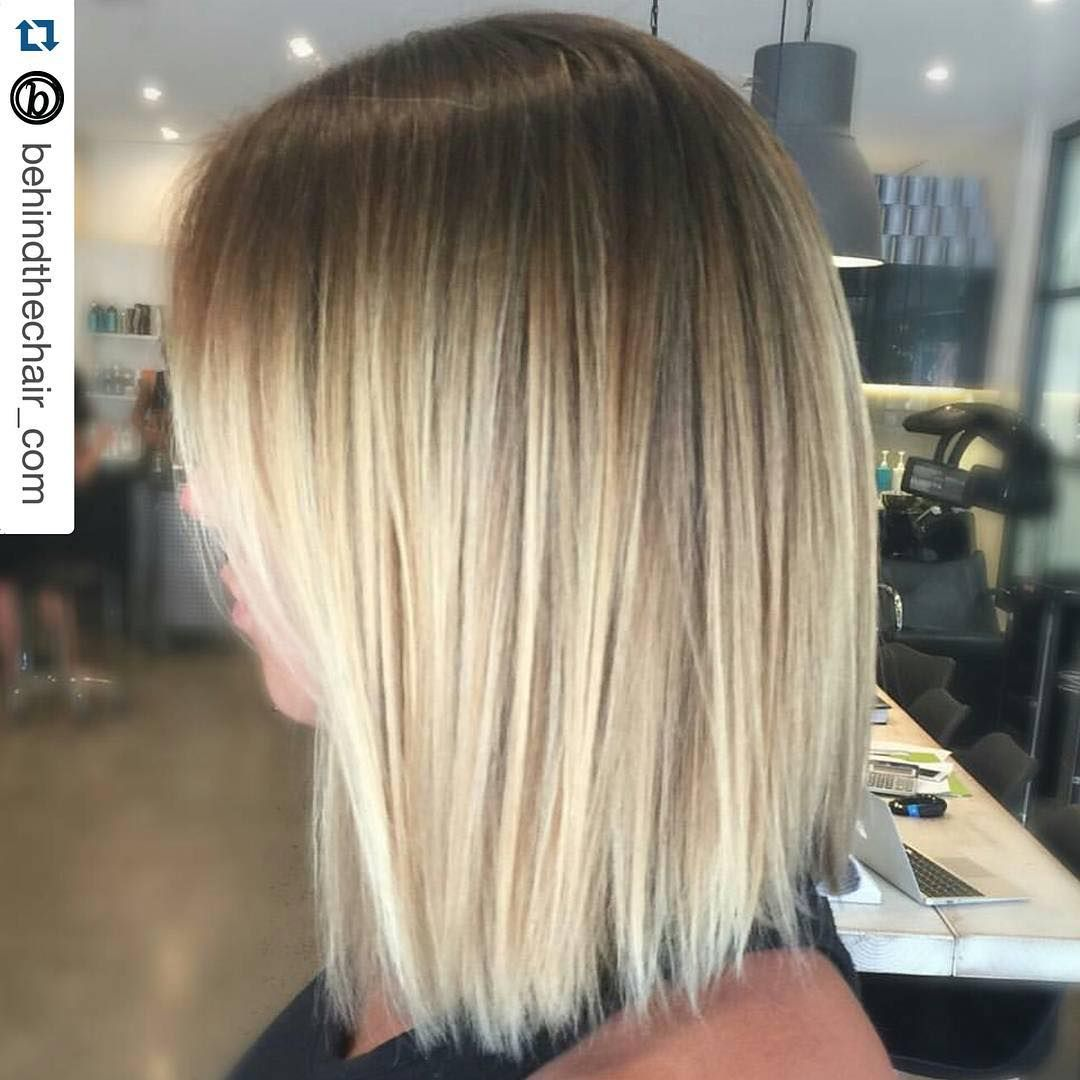 Shadowroot Brown To Blonde Color Melt Fashion Hair Pinterest