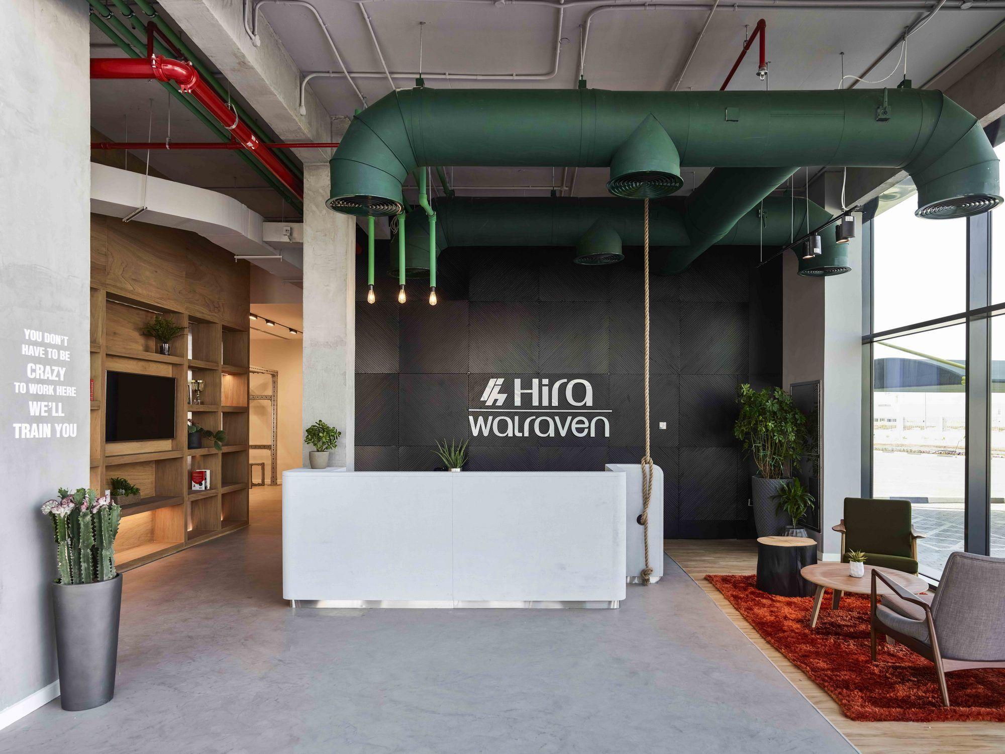 Hira Walraven Offices Dubai Office Snapshots Interior Design Dubai Industrial Office Design Corporate Office Design