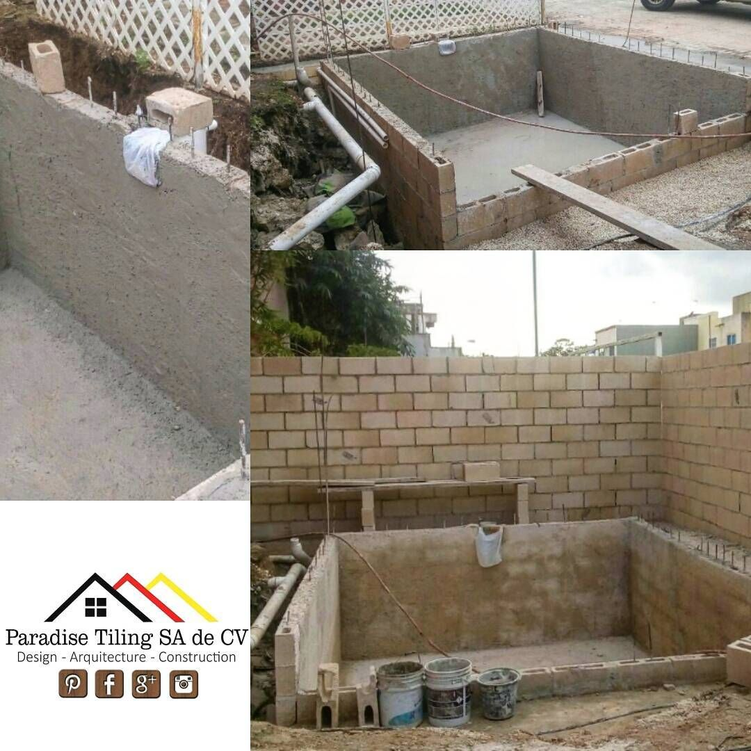 Paradise tiling sa de cv contractors in playa del carmen pools