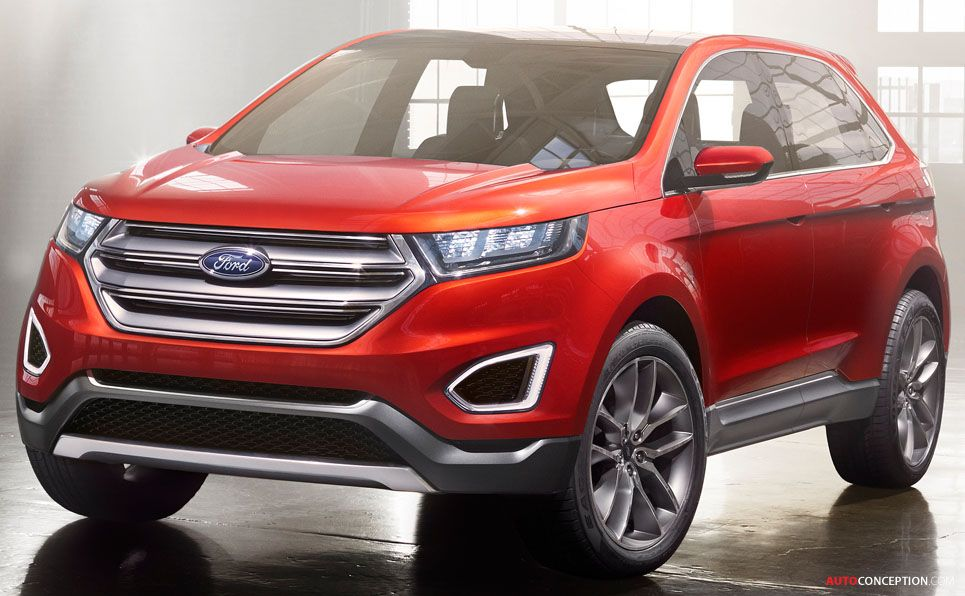 Ford Edge Suv Concept Ford Edge Ford Volkswagen