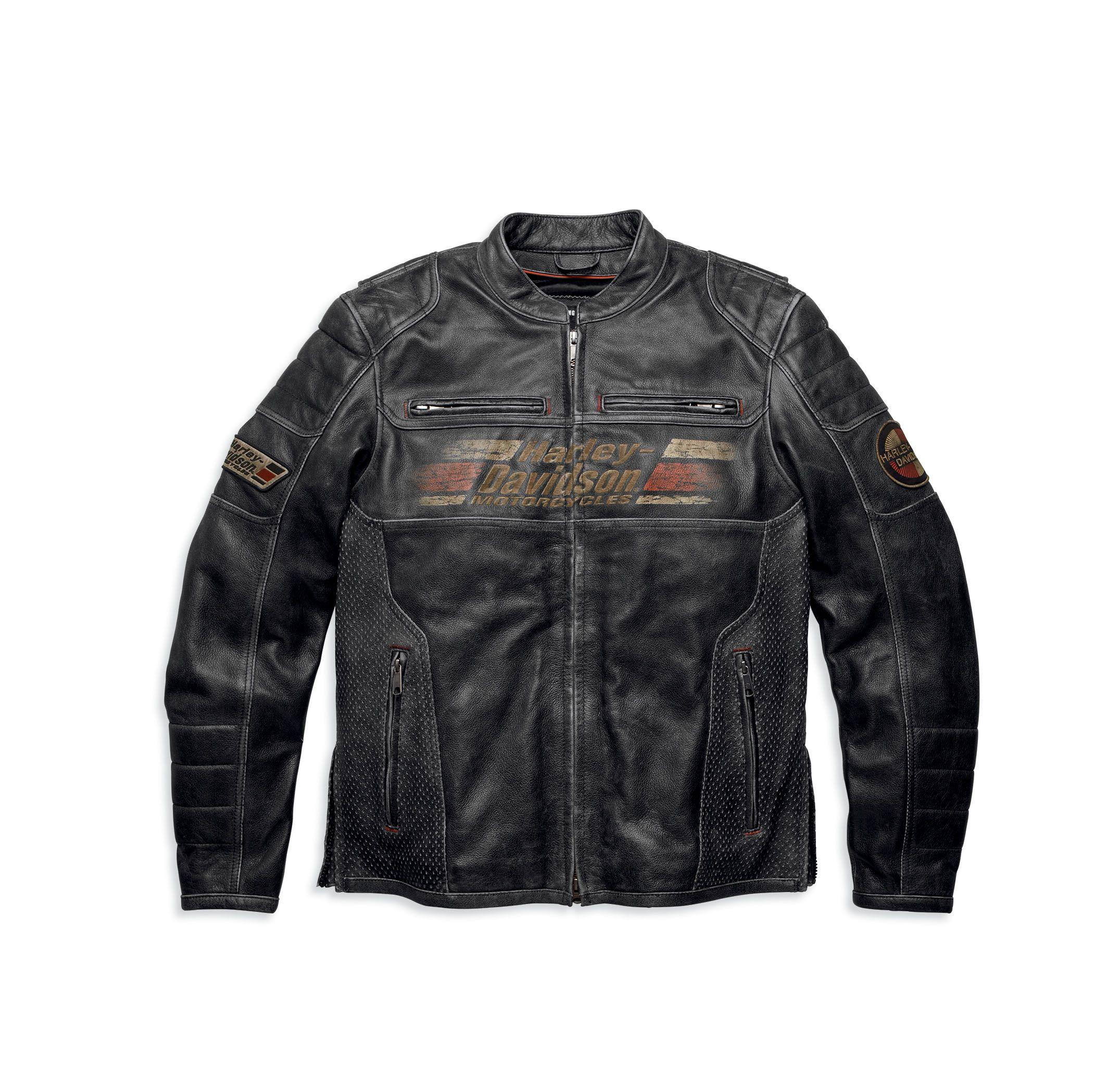 Harley Davidson Men S Astor Leather Jacket Harley Leather Jackets Distressed Leather Jacket Leather Jacket [ 2079 x 2151 Pixel ]