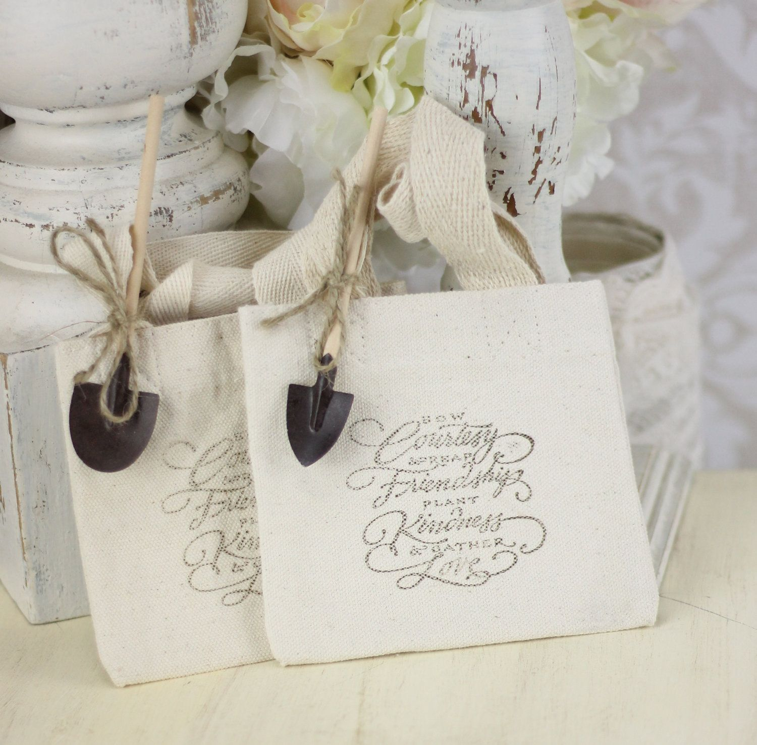 Wedding Favor Bags Rustic Chic Garden Wedding SET of 25. $52.50, via ...