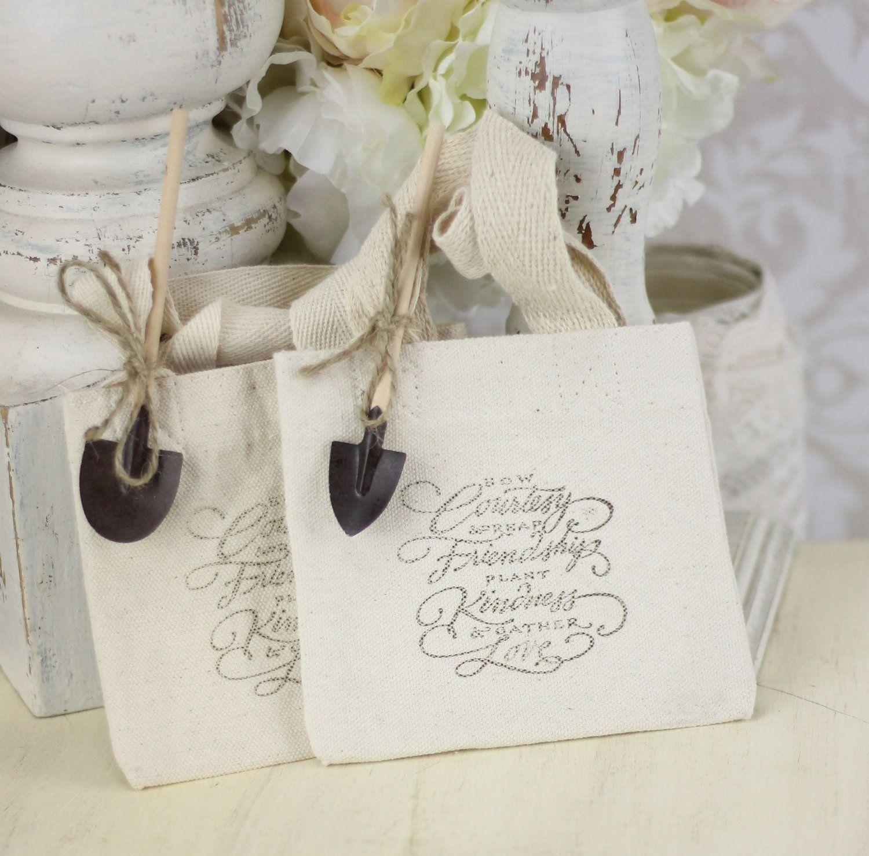 Wedding Favor Bags Rustic Chic Garden Wedding SET of 25. $52.50, via ...