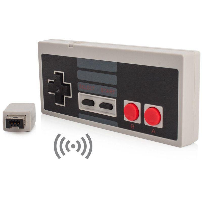 무선 플러그와 게임 컨트롤러 NES 클래식 판 게임 패드 NES 미니 버튼 컨트롤러 Wrireless 수신기