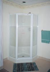 Shower Update About 1000 Rv Neo Angle Shower Door Silver W