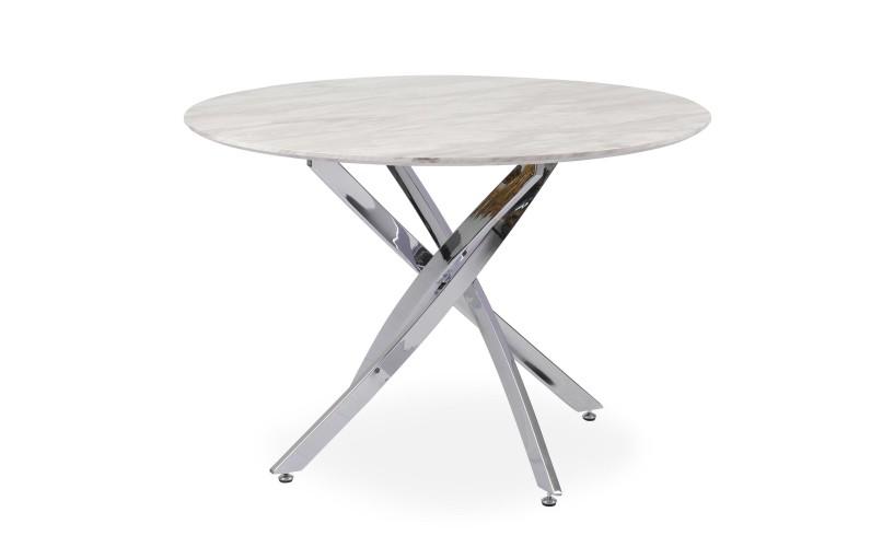 Table Ronde Dolmen Effet Marbre Table Ronde Design Table Cuisine Pas Cher Table Ronde