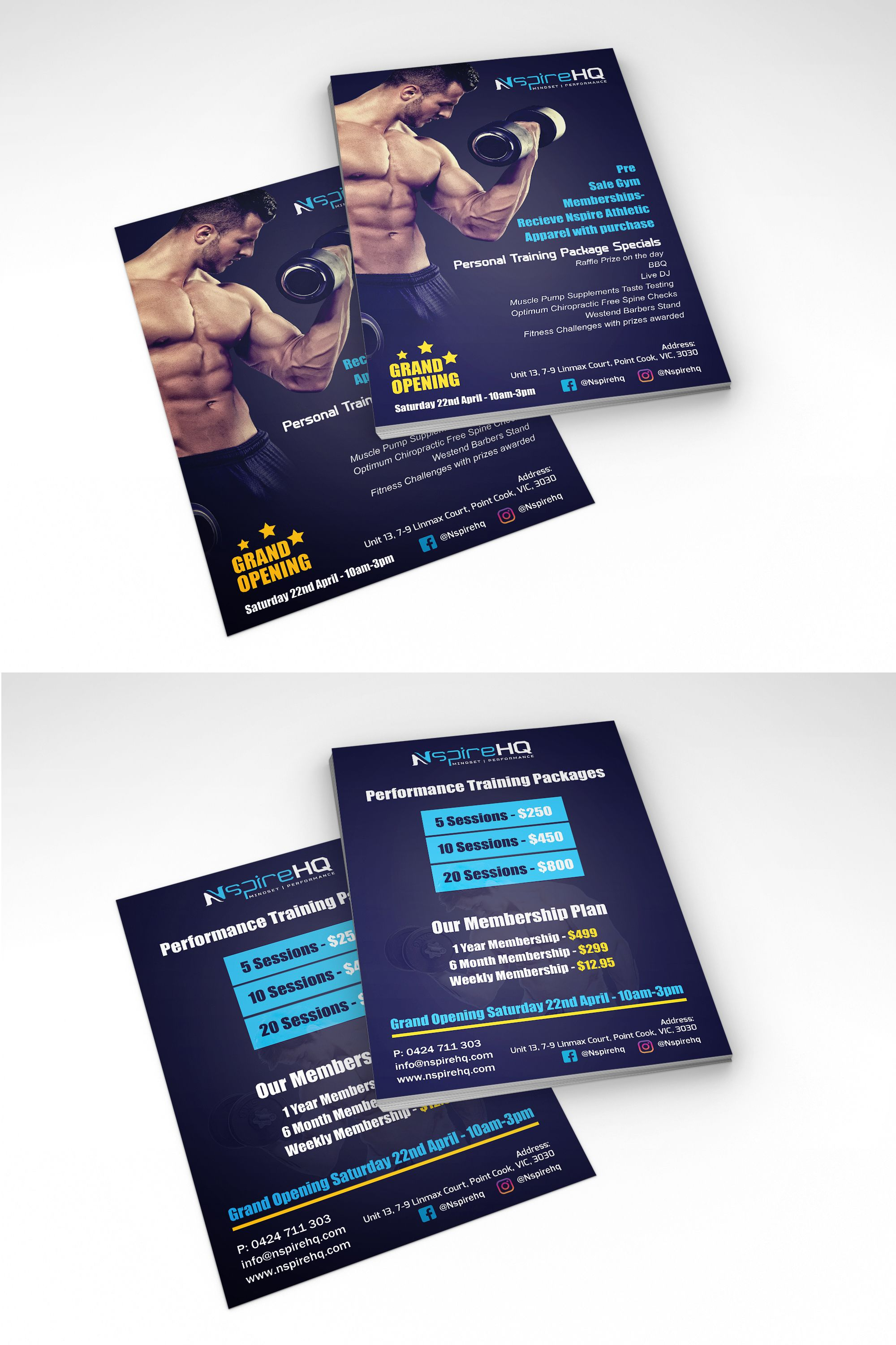 FlyerForGym Personal Design  Business    Gym
