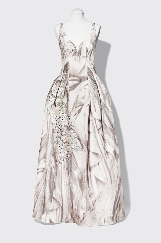 H M Conscious Exclusive Wedding Dress Xs M Silk Linen Embroidery Bridal Gown Innovatis Suisse Ch