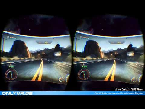 Need For Speed Rivals  Virtual Desktop (VR / Oculus Rift) #vr #virtualreality #virtual reality