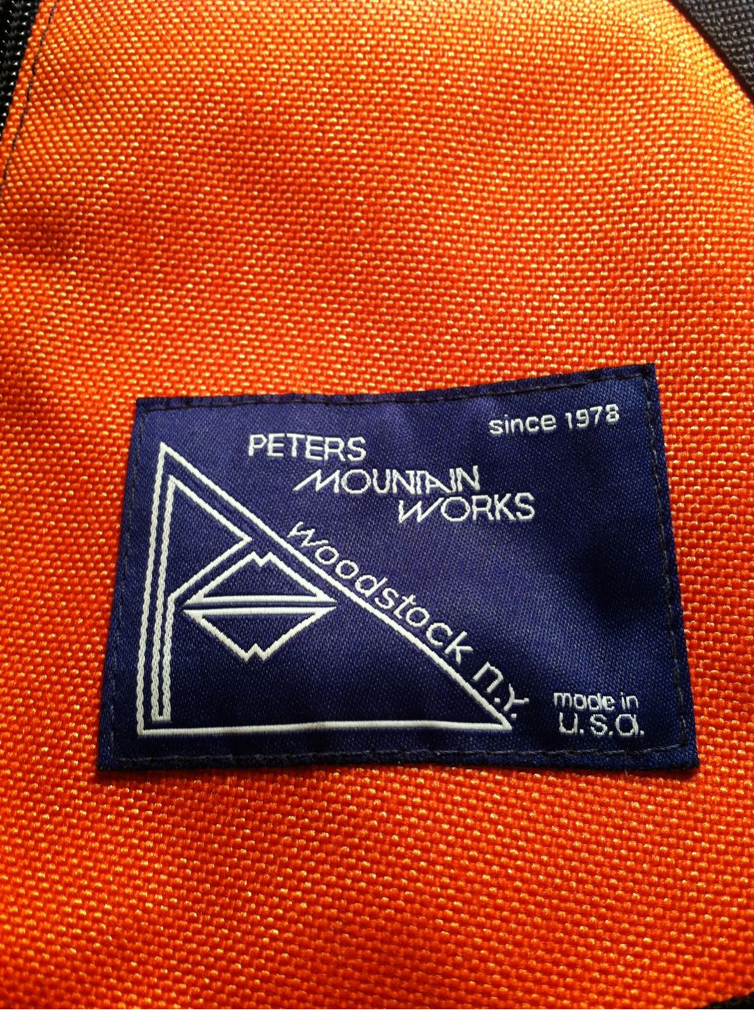 peters mountain works woven label labels pinterest