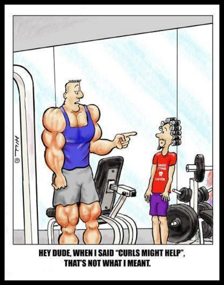 Fitness Lustige Sport Bilder Comic