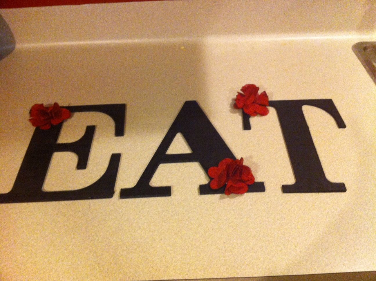 EAT Wall Letters for Kitchen | decor ideas | Pinterest | Kitchens ...