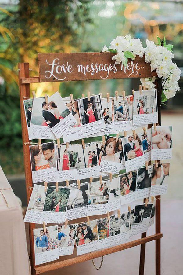 25 Idee Per Decorare Il Vostro Matrimonio Con Le Fotografie Idee Per Matrimoni Matrimonio Intrattenimento Matrimonio