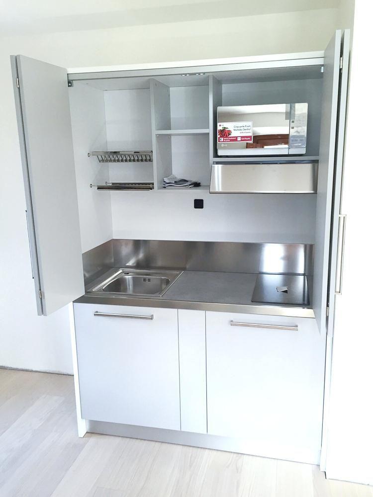 Cucina Armadio Ikea Nel 2020 Mini Cucina Mobili Per Piccoli Spazi Ikea