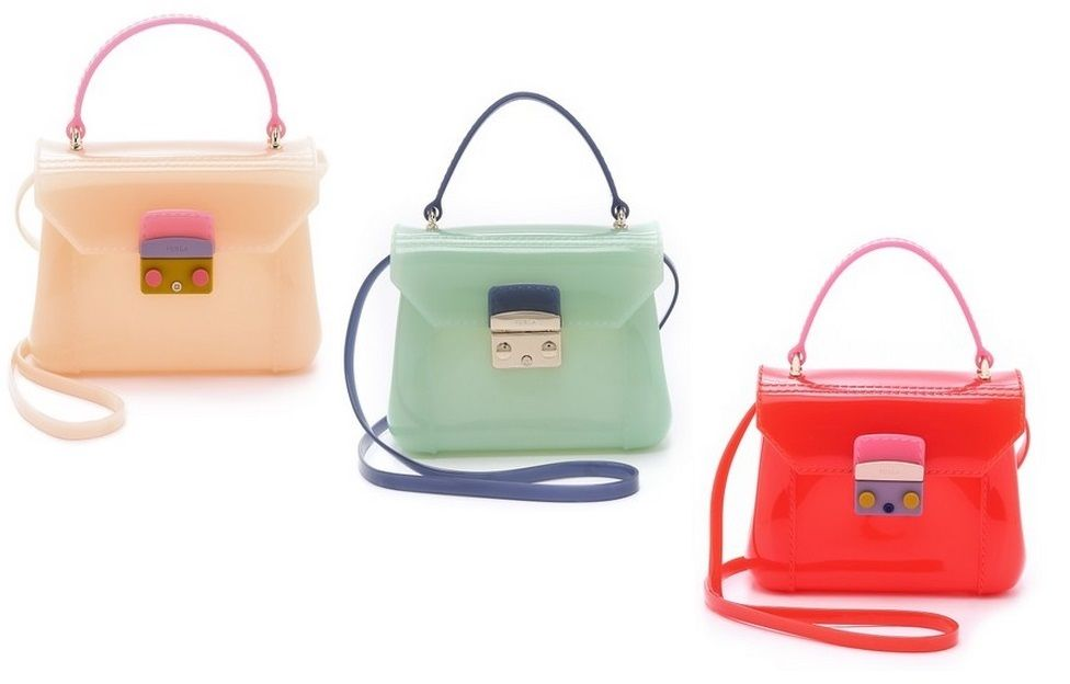 Furla Candy Bon Mini Cross Body Bag Luxury Vegan Handbags Designer Bags