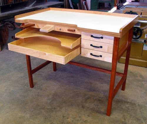My New Jewelers Bench Jewelry Bench Ideas Pinterest Bench Bench Plans And Studio