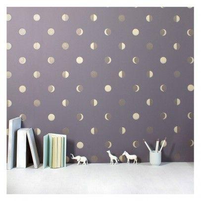 Moonrise Wall Paper - Swede Bartsch chambre Pinterest Papier