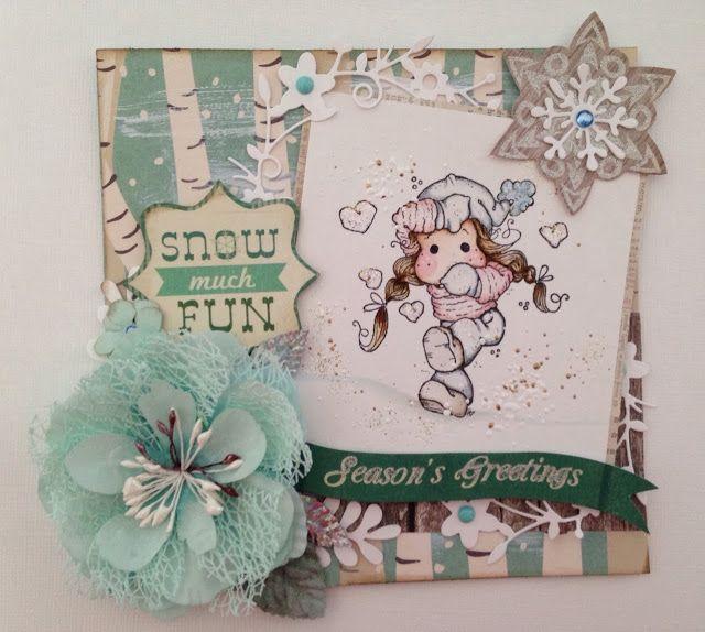 Crafty with Bunny: Snow Much Fun