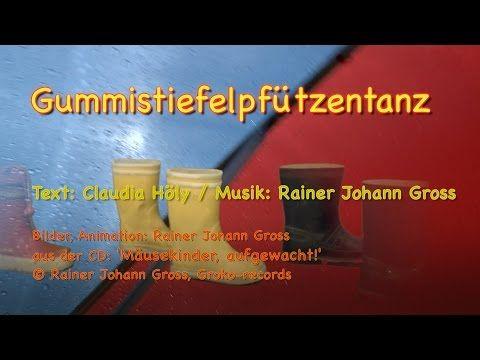 Rainer Gross Pfützentanz Gummistiefel Regenlied Johann PiXZuOk