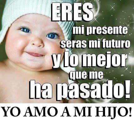 Imagenes De Bebes Con Frases Lindas Compartir Pinterest Love
