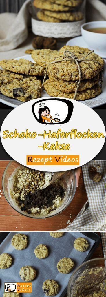 Schoko-Haferflocken-Kekse – #SchokoHaferflockenKekse – #SchokoHaferflockenKe…