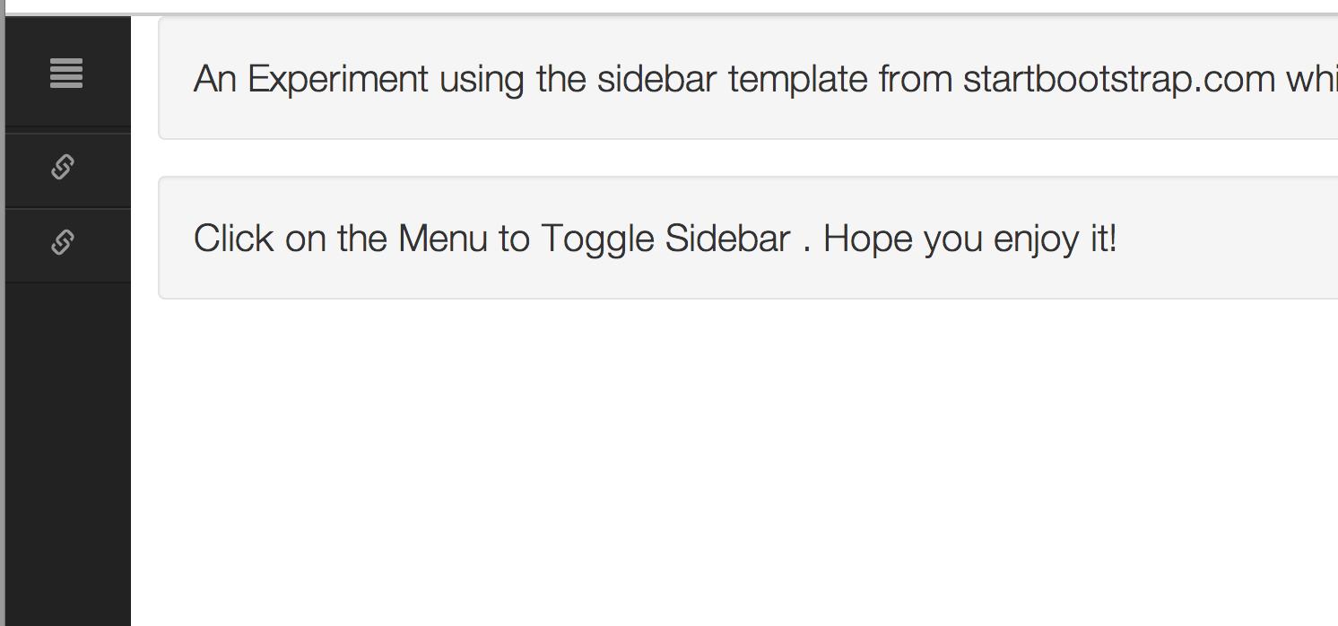 Navigation Sidebar with Toggle | Dev Archive