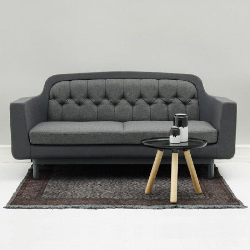 Buy Normann Copenhagen Onkel Two Seater Sofa Design 55 With Images Sofa 2 Seater Sofa Sofa Design