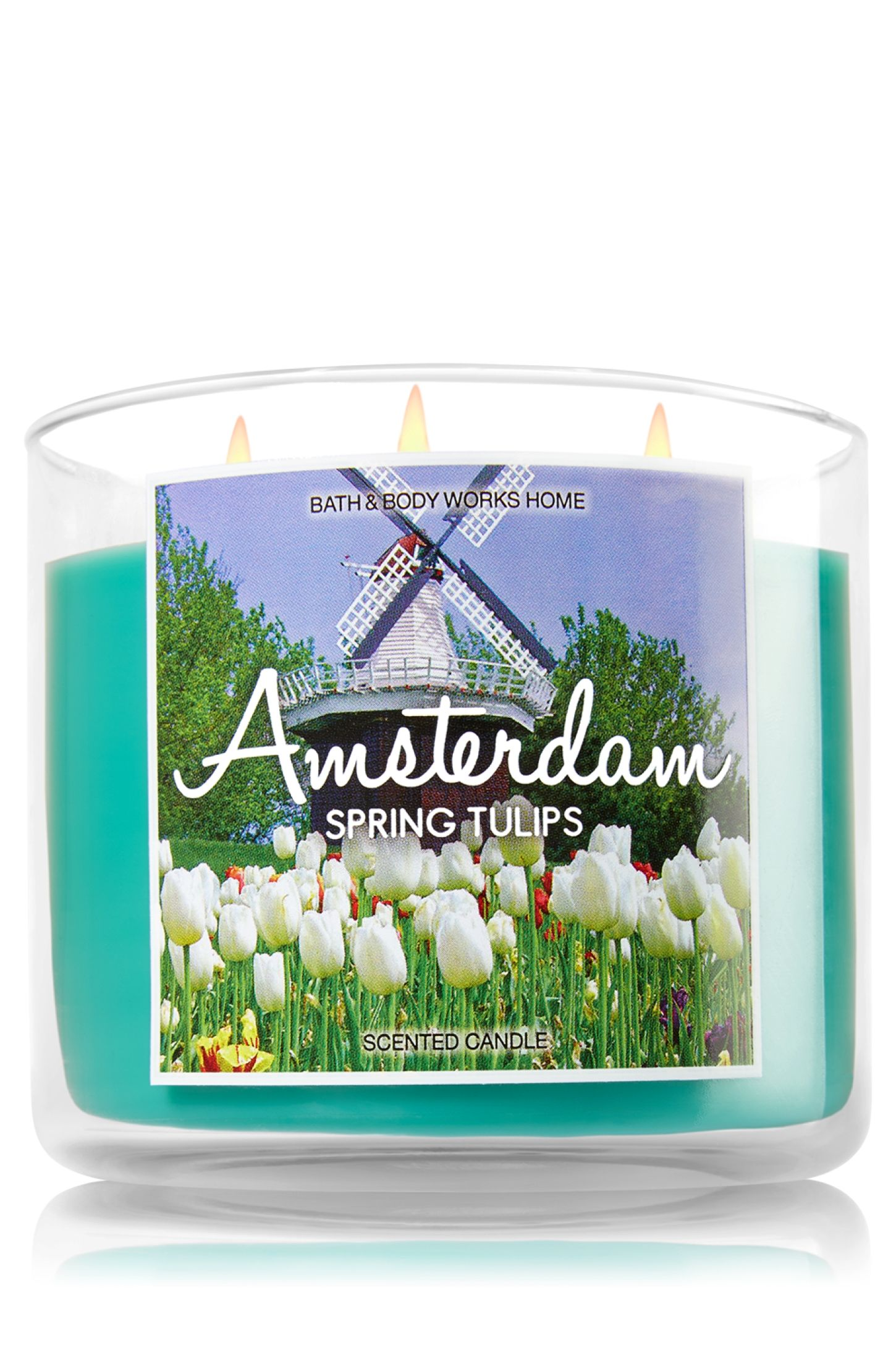 Yankee Candle Amsterdam.Amsterdam Spring Tulips 3 Wick Candle Home Fragrance
