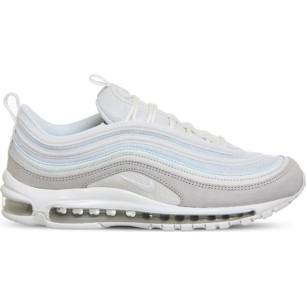 5a1767a59efbe NIKE Air Max 97 leather and mesh trainers ( 190) ❤ liked on Polyvore  featuring